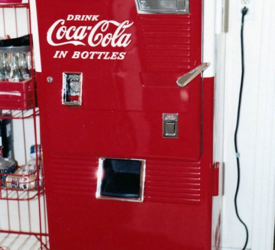 restored coke machine