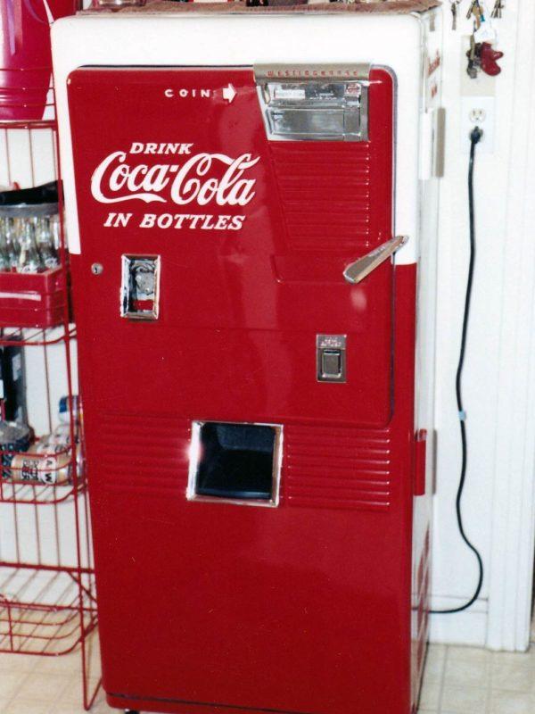 restored coke machine